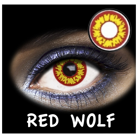 Fantasia Diaria Red Wolf 2u.